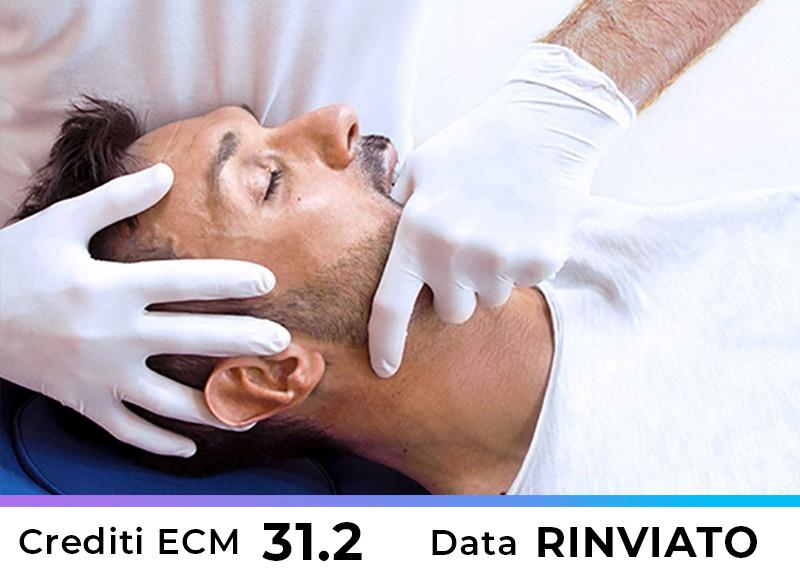 L'influenza dei disturbi dell'ATM sulla dinamica cranio-vertebrale: approccio multidisciplinare dalla diagnosi alla terapia- Bari