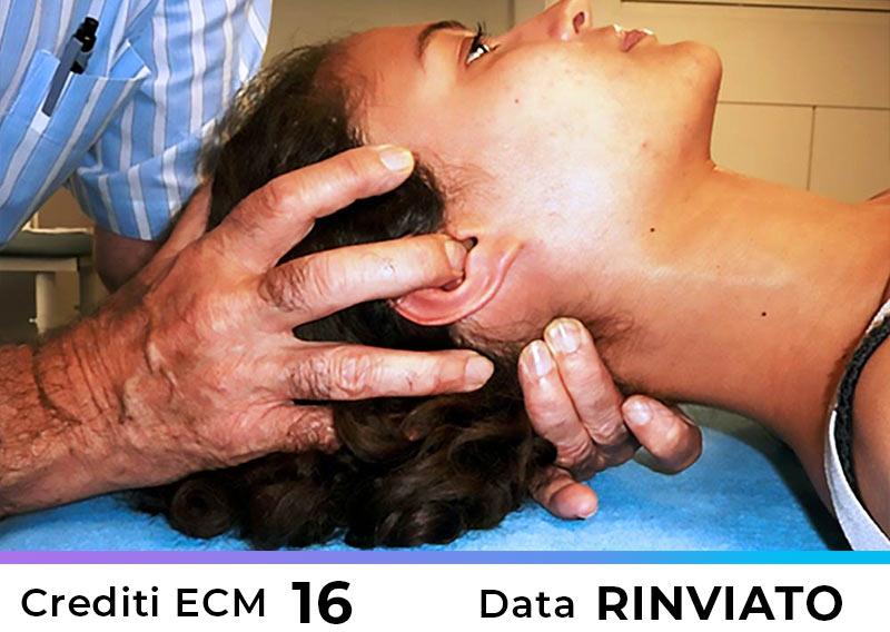 Terapia Manuale delle Cefalee Emicranie e Algie della Faccia – Roma