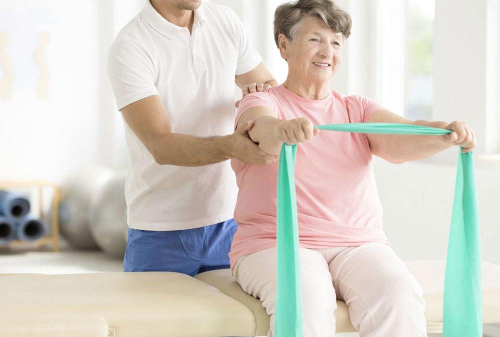 Fisioterapia paziente anziano