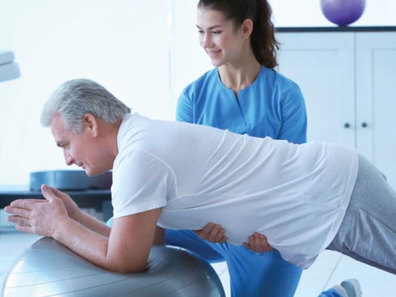 Fisioterapia sui pazienti anziani